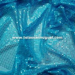 Lentejuela fantasía azul