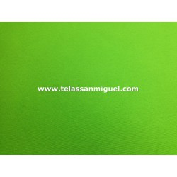 Loneta lisa verde pistacho