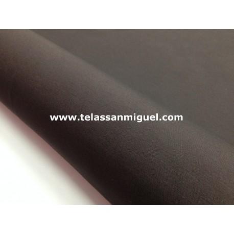 Loneta lisa marrón chocolate