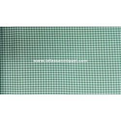 Vichy cuadro mediano verde