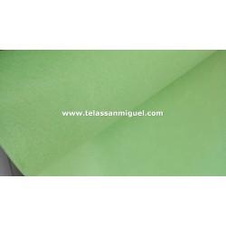 Fieltro verde claro