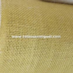 Tela de saco o arpillera color natural