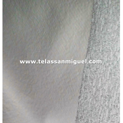 Felpa o toalla plastificada
