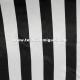 Raso carnaval raya blanca y negra