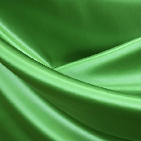 Raso liso verde