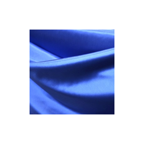 Raso liso azul