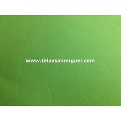 Loneta lisa verde oscuro
