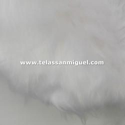 Peluche pelo largo blanco