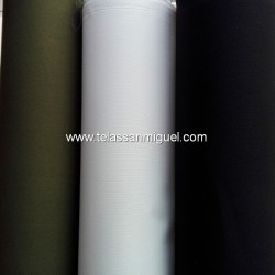 Tejido impermeable exterior negro