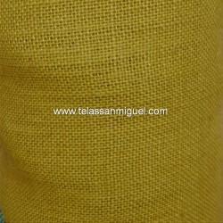 Tela de saco o arpillera color ocre