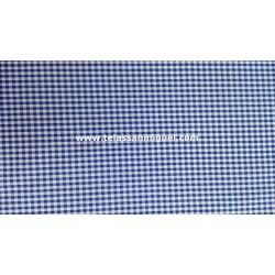 Vichy cuadro mediano azul