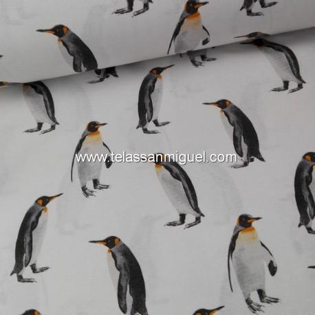 Loneta pingüinos