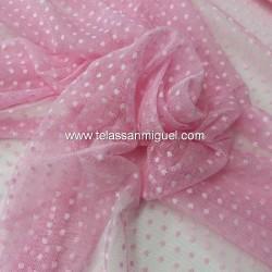 Tul plumeti rosa