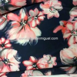 Mikado estampado floral