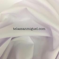 Sarga algodón 100% blanca Hidrófuga Antibacteriana