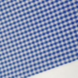 Vichy algodón azul 2,7 mm