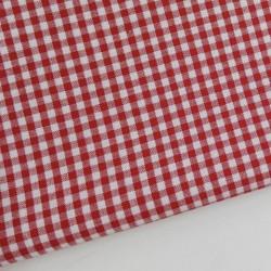 Vichy algodón rojo 2,7 mm