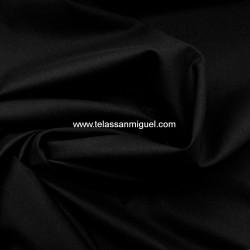 Popelín algodón negro Hidrófugo Antibacteriano