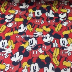 Algodón Disney Mickey Mouse