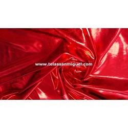 Lycra Foil roja