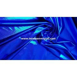 Lycra Foil azul