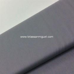 Algodón liso gris claro