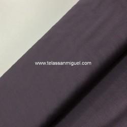 Algodón liso gris oscuro