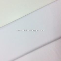 Algodón liso gris blanco