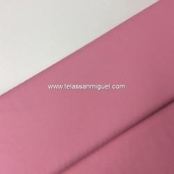 Algodón liso rosa