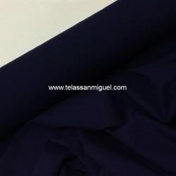 Popelín azul marino