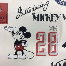 Loneta Mickey Mouse