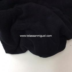 Toalla o felpa negra