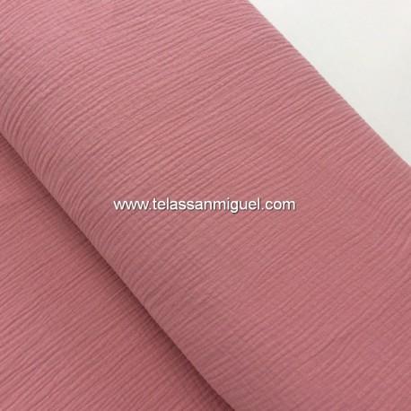 Gasa bambula rosa