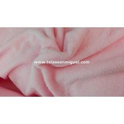 Toalla o felpa rosa